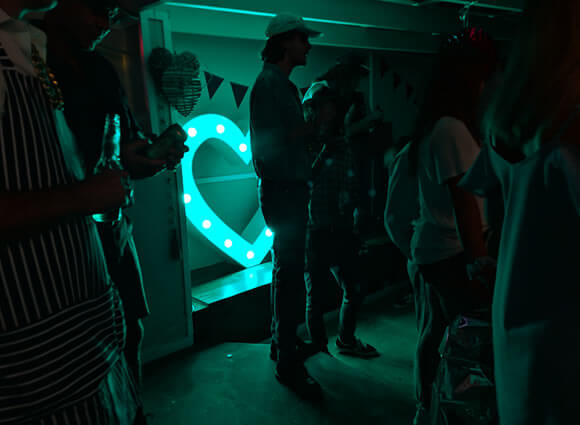 Networking Event Light Up Letter-inLight Studios, Sydney, NSW