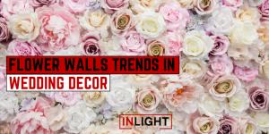 Flower Walls Trends In Wedding Decor